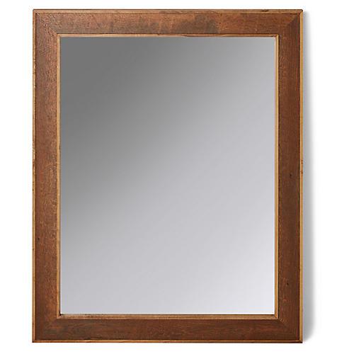 Lowell Mirror, Pecan/Pine