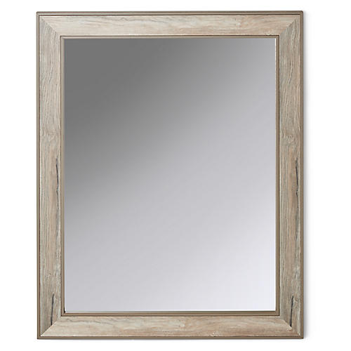 Lowell Mirror, Driftwood/Gray