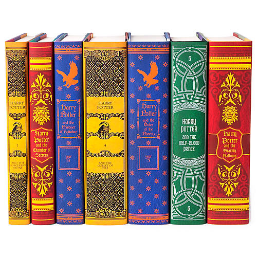 Asst. of 7 Harry Potter Book Set