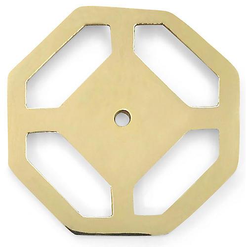Olsen Backplate, Brass