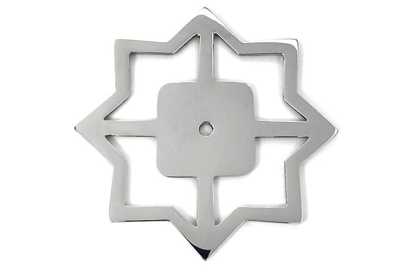 Woodard Backplate, Nickel