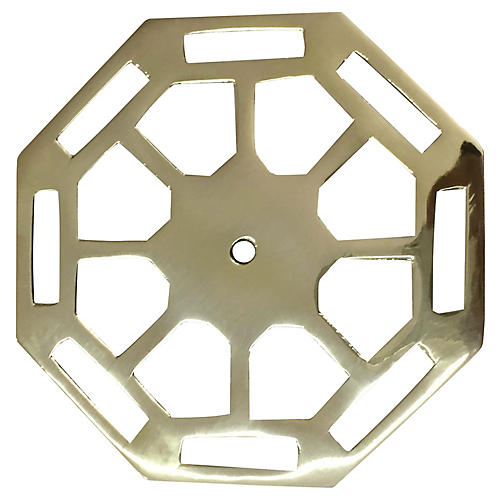 Carrington Backplate, Brass