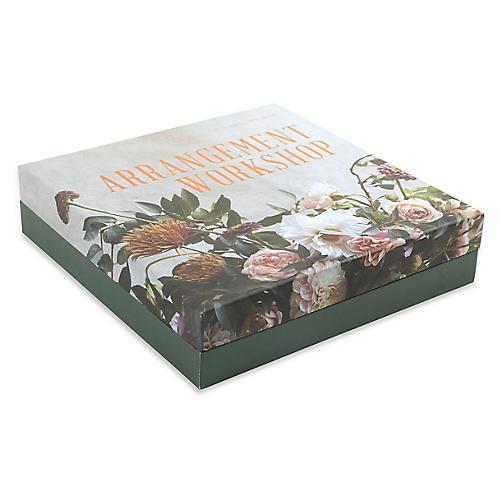 "10"" Stillman Floral Arrangement Kit, Green/Multi"