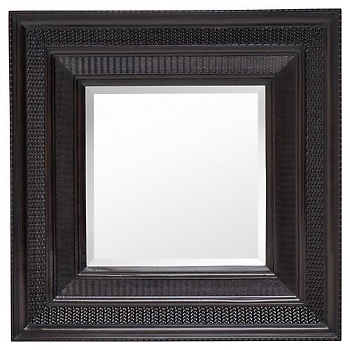 Hyde Wall Mirror, Ebony
