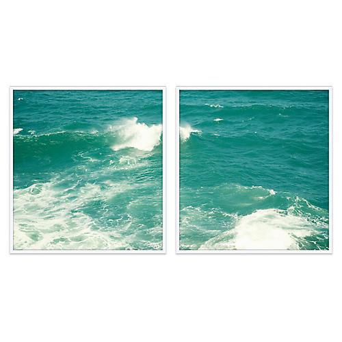 Christine Flynn, Ocean Diptych