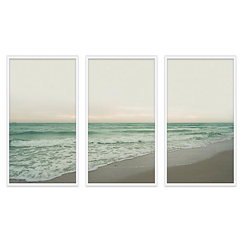Christine Flynn, South Beach Triptych