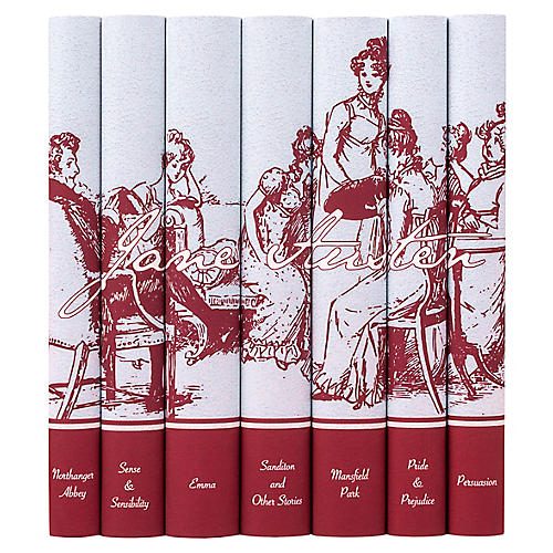 S/7 Jane Austen Signature Book Set