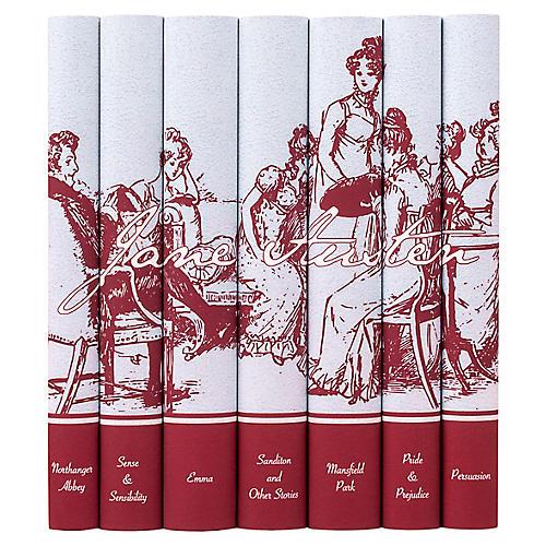 S/7 Jane Austen Signature Book Set