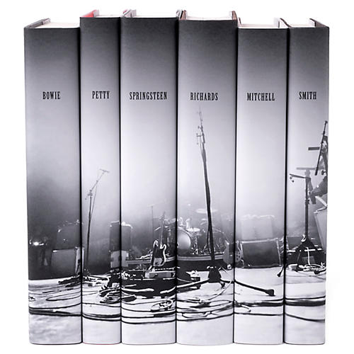 S/6 Legends of Rock Book Set