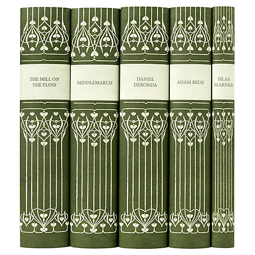 S/5 George Eliot Book Set