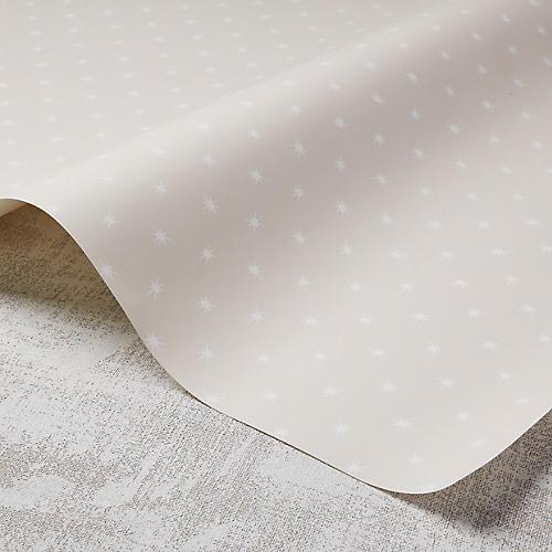 Stars Wallpaper, Rose Quartz/White
