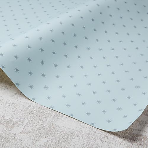 Stars Wallpaper, Hydrangea/Gray