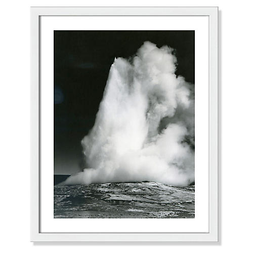 Ansel Adams, Old Faithful Geyser