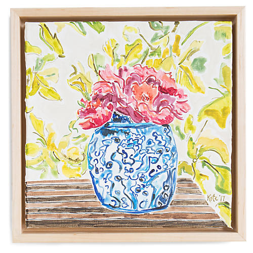 Kate Lewis, Entry Table with Flowers