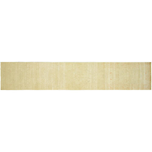 "2'5""x13'7"" Sultanabad Runner, Ivory"