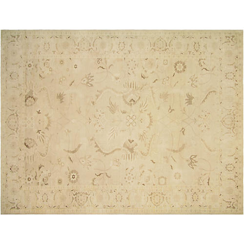 "9'x11'9"" Sultanabad Rug, Taupe/Brown"