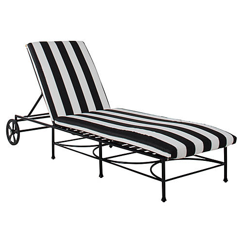 Frances Chaise, Black/White