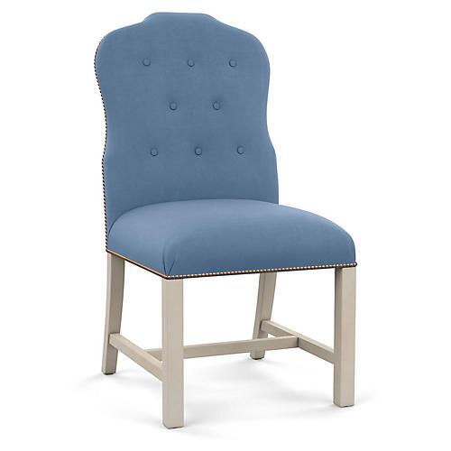 Jack Side Chair, Cornflower Linen