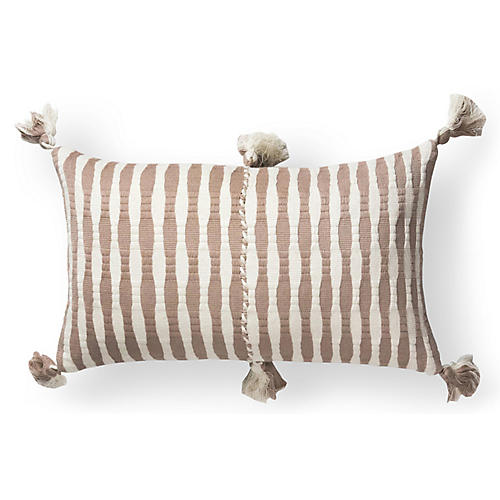 Antigua 12x20 Pillow, Tan/Natural