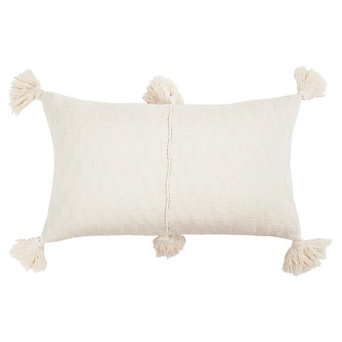 Antigua 12x20 Pillow, Ivory