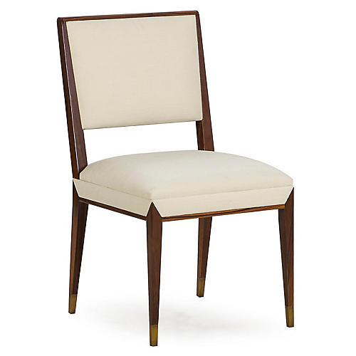 Reform Side Chair, Ivory