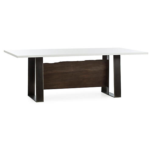 Jordan Dining Table, White