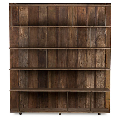 Peyton Bookcase, Natural/Black