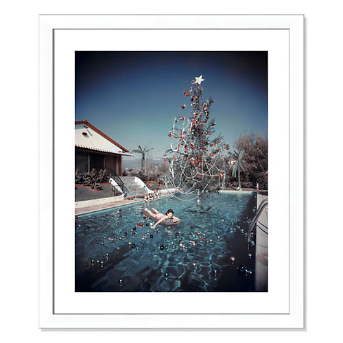 Slim Aarons, Christmas Swim