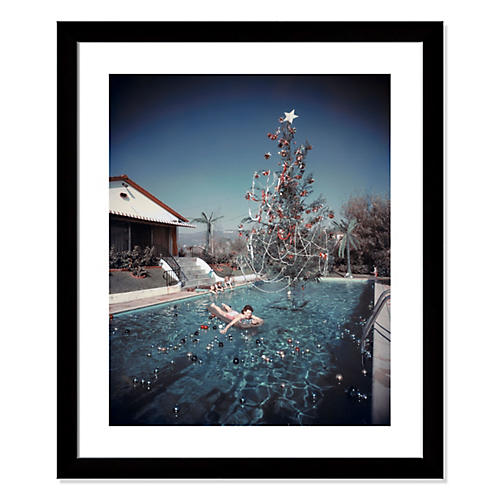Slim Aarons, Christmas Swim