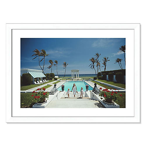 Slim Aarons, Neo-Classical Pool