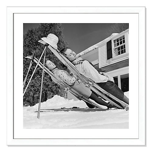 Slim Aarons, New England Skiing