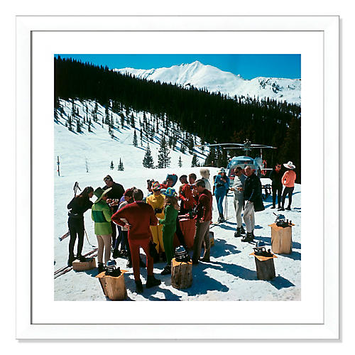 Slim Aarons, Snowmass Picnic