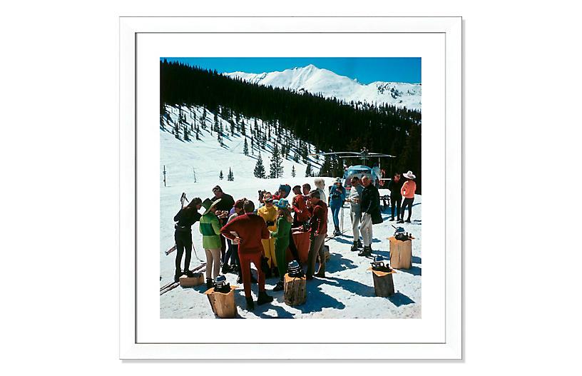 Slim Aarons, Snowmass Picnic