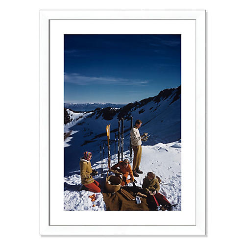 Slim Aarons, Squaw Valley Picnic