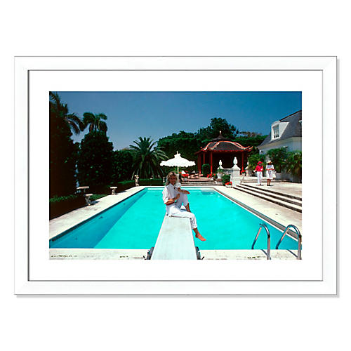Slim Aarons, Pool And Parasol