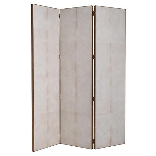 Hayworth Room Screen, Ivory