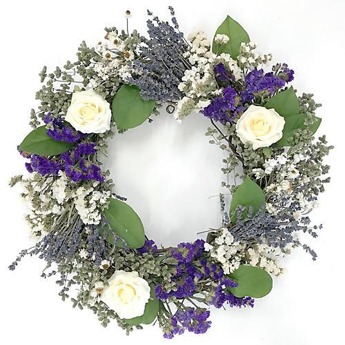 "18"" Victorian Wreath, Preserved"