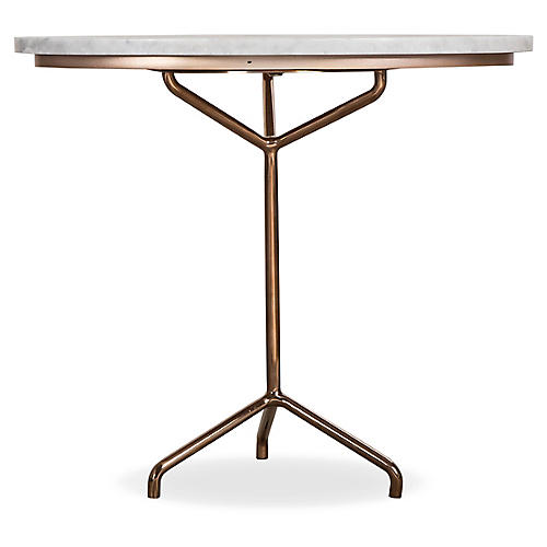 Rose Side Table, Ivory