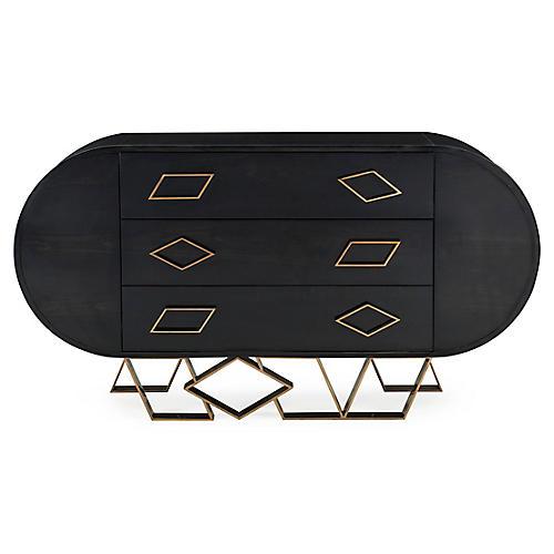 Sting Dresser, Black/Gold
