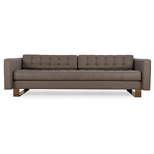 Vinci Sofa, Taupe Linen