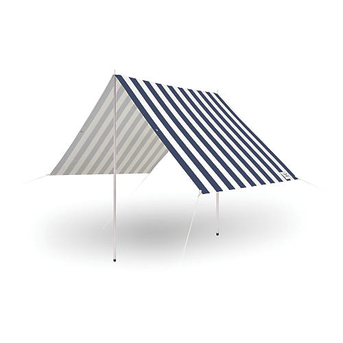 Premium Beach Tent, Navy/White Stripe