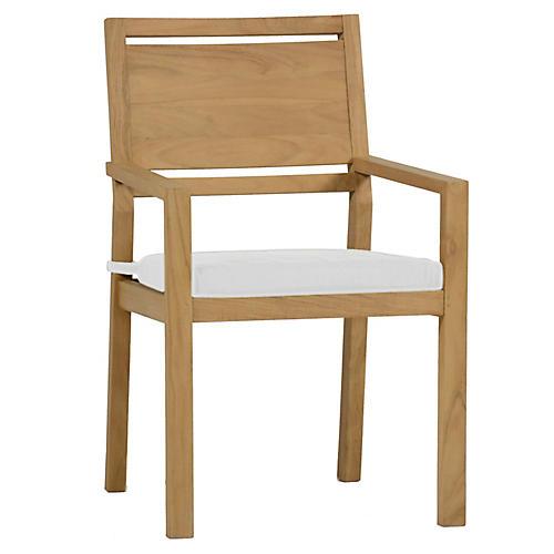 Avondale Armchair, White