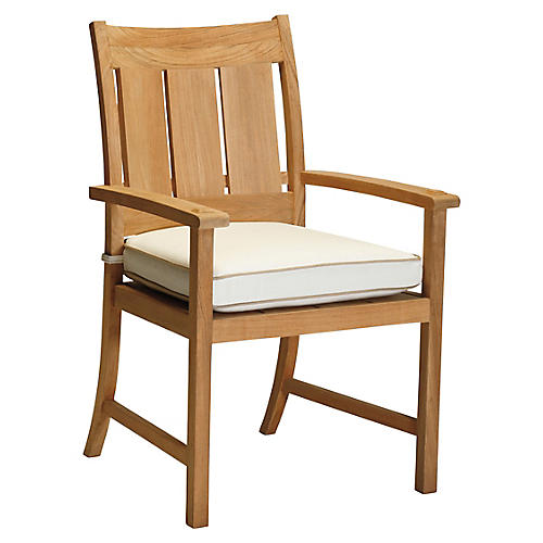 Croquet Armchair, Natural