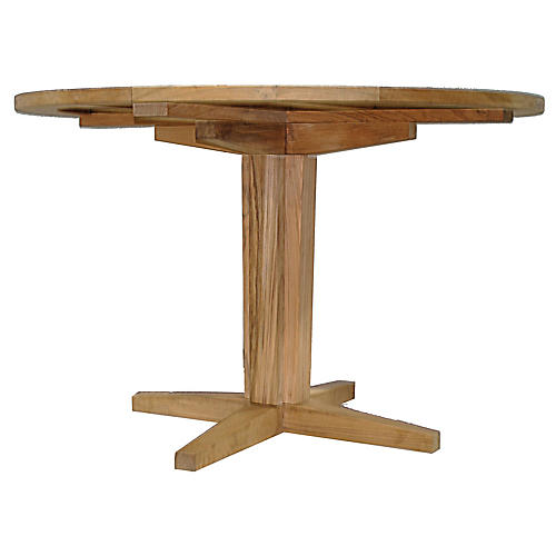 Teak Dining Table, Natural