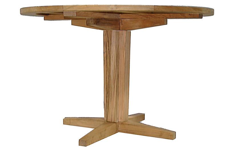 Teak Dining Table, Natural
