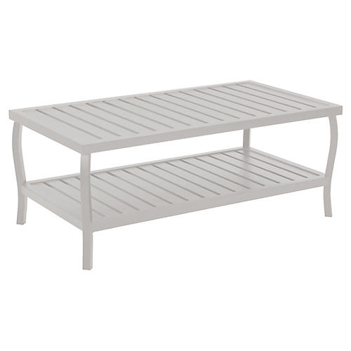 Cottage Coffee Table, French Linen
