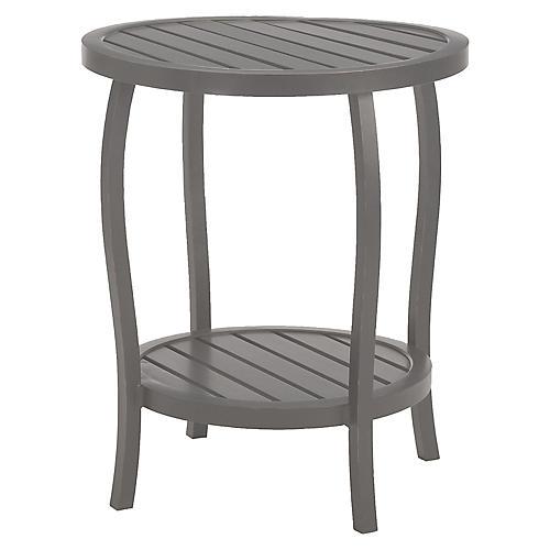 Cottage Side Table, Slate Gray