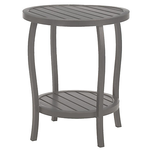 Cottage Side Table, Slate Gray