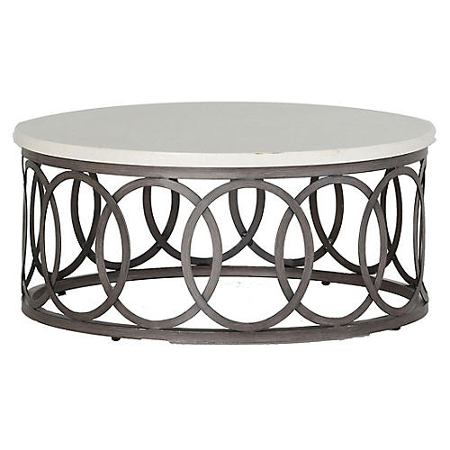 Ella Coffee Table, White