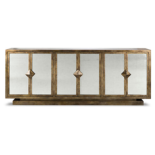 Harlow Sideboard, Gold